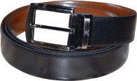 Silverbull Men Casual Brown Genuine Leather Reversible Belt Brown