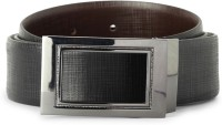 Van Heusen Men Black Genuine Leather Belt Black - BELEE972ZMG8NZFH