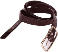 362436 Women Casual Brown Genuine Leather Belt (Brown)