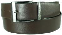 Reven Men Formal Black Genuine Leather Reversible Belt Black And Brown - BELEC88YDUV7TC95