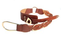 Just Women Belt - Saddle Brown - BELDH25NU5AGNTAY