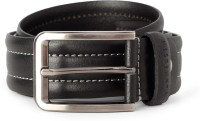 Van Heusen Men Black Genuine Leather Belt Black