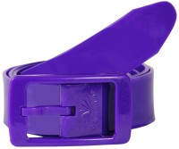 Colorful Belts Women Casual Purple Synthetic Reversible Belt Violet-71