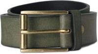 Van Heusen Men Green Genuine Leather Belt Green