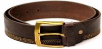 TOPS Men Brown Genuine Leather Belt Brown