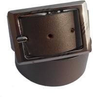 B.S.Chadha Group Men Formal Brown Genuine Leather Belt Brown