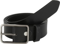 Global Leather Boys, Men, Girls, Women Formal, Casual, Party, Evening Black Genuine Leather Belt Black - BELEAJ4SZEZDPVGT