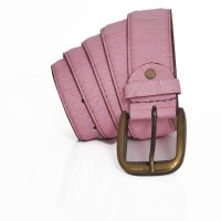 Stylox Men Casual Pink Synthetic Belt Pink-0012