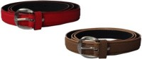 NAGAR ENTERPRISES Girls Casual Blue, Brown Artificial Leather Belt BLUE-BROWN-10