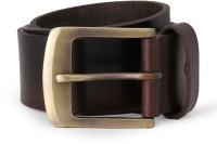 Van Heusen Men Brown Artificial Leather Belt Brown