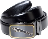 Imported Men Casual, Evening, Formal, Party Black Genuine Leather Belt Black