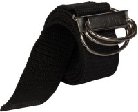 Aarip Boys, Girls, Men, Women Casual, Formal Black Canvas Belt Black-03