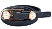 Vivaa Women Casual Black Artificial Leather Belt (Black) - BELE3XY7XDVRTXFJ