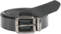 Goodwill Leather Art Boys, Men Casual, Formal, Evening, Party Black Genuine Leather Belt Black