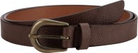 Orkee Women Casual Brown Artificial Leather Belt Brown-08