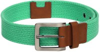 Pepe Jeans Men Casual Green Synthetic Belt Green