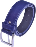 VICTORIA SECRET INDIA Men Blue Artificial Leather Belt BLUE