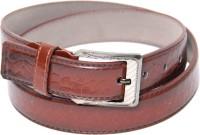 Force Men Formal, Semi-formal Brown Artificial Leather Belt Brown