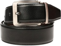 Saugat Traders Boys, Men Casual, Evening, Formal, Party Black, Brown Artificial Leather Reversible Belt (Black, Brown)