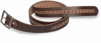 Victoria Secret India Men Formal Brown Artificial Leather Belt Brown-4