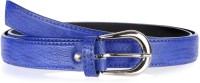 Allura Women Evening/Party, Casual, Semi-formal Blue Synthetic Belt (Blue)