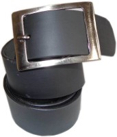 Good Life Stuff Men Formal Black Genuine Leather Belt Black