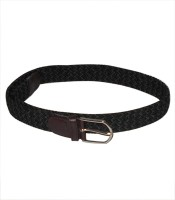 Navie Women Grey Fabric Belt Black