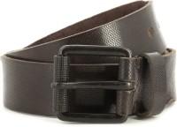 Pepe Jeans Men Brown Genuine Leather Belt Brown