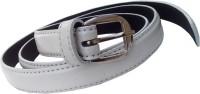 Wsd Women Formal White Synthetic Belt White