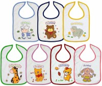 Ollington St. Collection Sunday To Monday Bibs Set (Pack Of 7) (Multicolour)