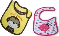 Carter Baby Angle Bibs Set Of 2 Pcs. (Multicolor)