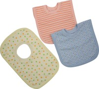 Pebbles T-Shirt Style Bibs - Blue & Yellow & Orange (Yellow, Orange, Blue)