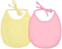 Morisons Baby Dreams Fast Dry Bib (Pink, Yellow)