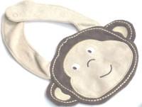 Baby World Velcro Feeding Bib (Brown)