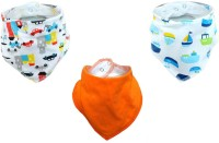 Meded Bandana Bibs For Babies And Toddlers D5 (Multicolor)
