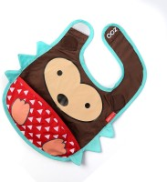 Baby Oodles Cloth Bib With Pocket Porcupine (Multi)