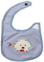 Woosh Baby Velcro Bib (Grey)