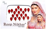 Roop Nikhar Bindis Roop Nikhar Oval with Crystal Vivah Collection Forehead Red Bindis