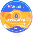 Verbatim DVD Recordable Spindle 8.5GB - Pack Of 50