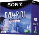 Sony Dual Layer DVD Single Jewel Case