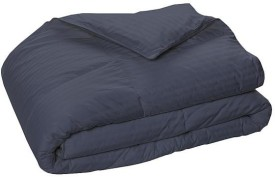 LNT Striped Single Quilts & Comforters Grey
