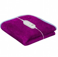 Home Elite Plain Single Electric Blanket Pink Electric Bed Warmer