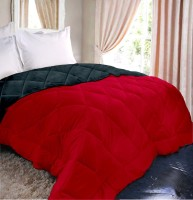 Raymond Plain Double Quilts & Comforters Red Quilts