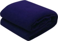 RS Quality Plain Single Quilts & Comforters Blue