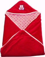 My NewBorn Cartoon Crib Hooded Baby Blanket Red (1 Blanket)