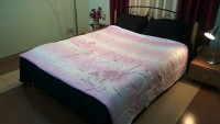 Jojo Designs Embroidered Double Quilt & Comforter Pink