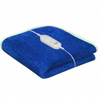Warmland Plain Single Electric Blanket Blue, Electric Bed Warmer
