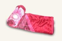 Fabutex Floral King Blanket Red Mink Blanket, 1 Mink Blanket