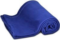 GRJ India Plain Fleece Solid Single Blanket (Fleece)