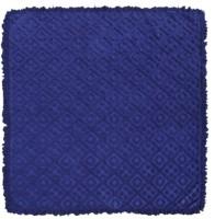 Saral Home Geometric Double Fleece Blanket Navy Blue